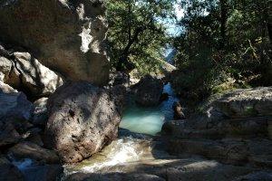 Stream above Chinipas