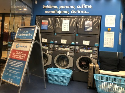 laundromat in Prague