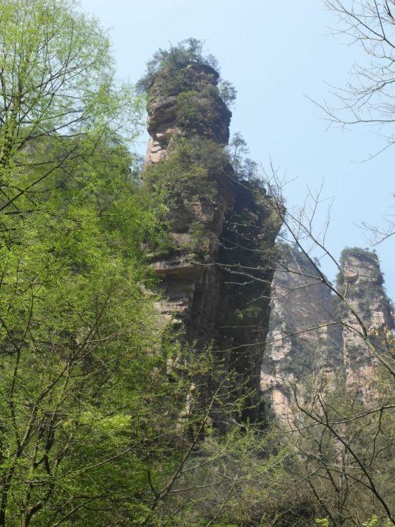 rots genaamd Literaire Brief in Zhangjiajie