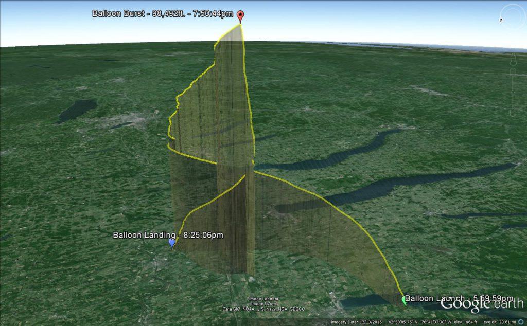 Overlook Horizon High Altitude Balloon