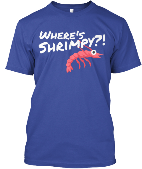 OLHZN-10 Where's Shrimpy T-Shirt