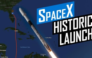 SpaceX Historic SAOCOM-1B Satellite Launch