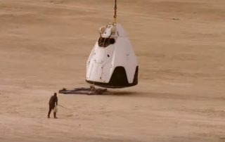 Crew Dragon Parachute Tests