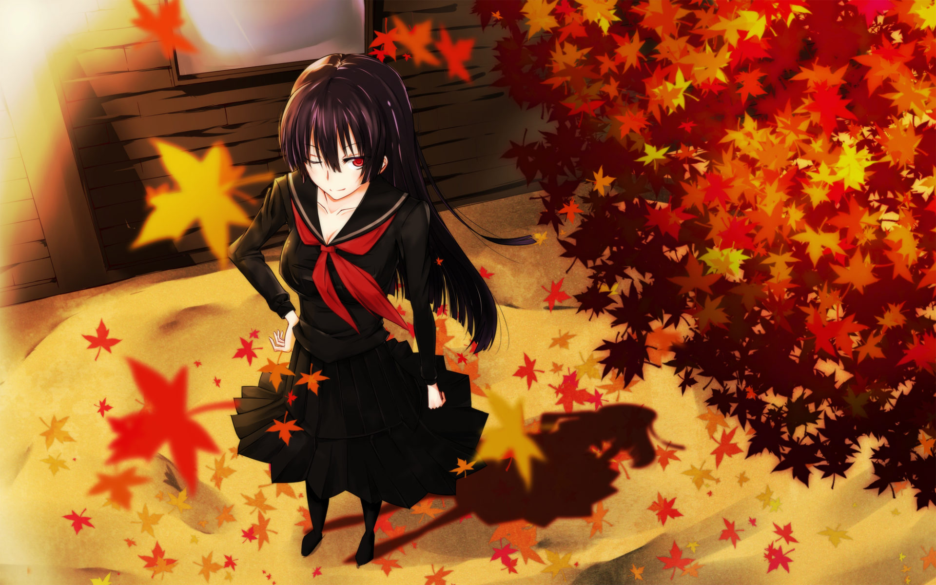 Image result for anime fall pictures