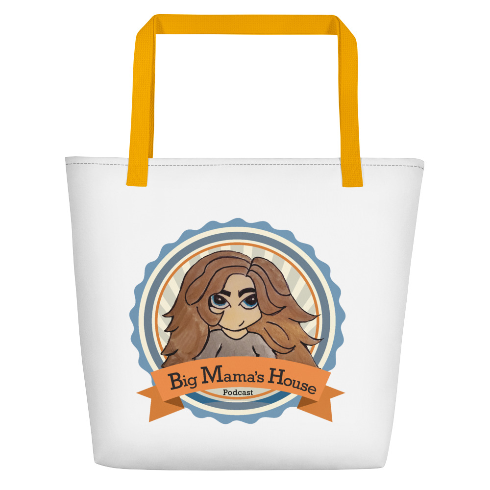 Beach Bag – Big Mama's Podcast Logo