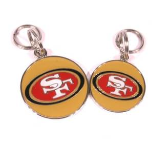 San Francisco 49ers pet tag