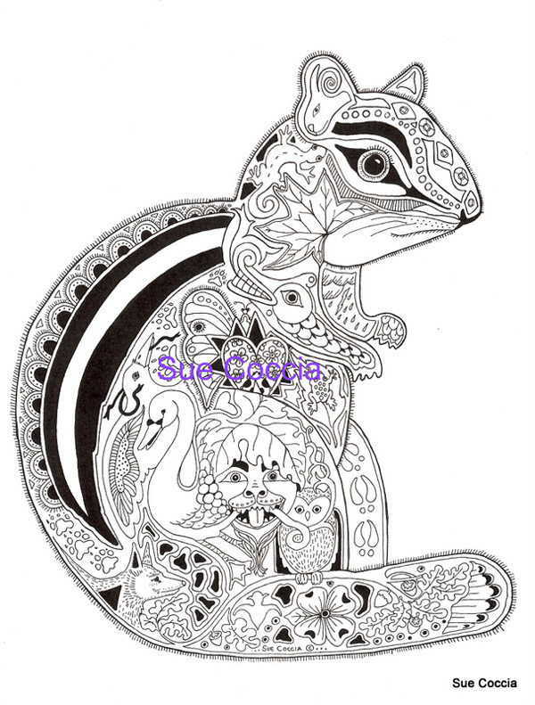 free sue coccia coloring pages - photo#8