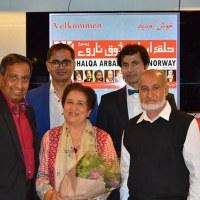 ناروے میں ایک سابق  پاکستانی پولیس افسر کی سفری روداد کی رونمائ، حلقہ ارباب ذوق نے تقریب کا اہتمام کیا