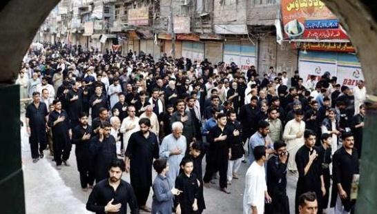 8th Muharram Juloos in Pakistan
