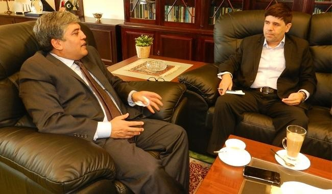 Pakistan's Envoy Shafqat Ali