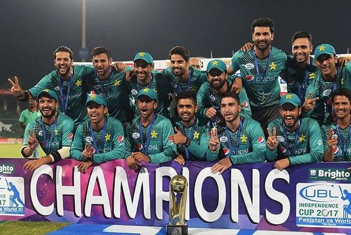 Pakistan vs world x1