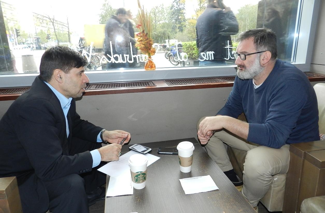 Pakistani Researcher Syed Sibtain Shah meets Jarosław Włodarczyk Secretary General of International Association of Press Clubs
