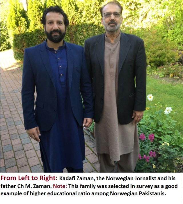 Kadafi Zaman and Ch Zaman