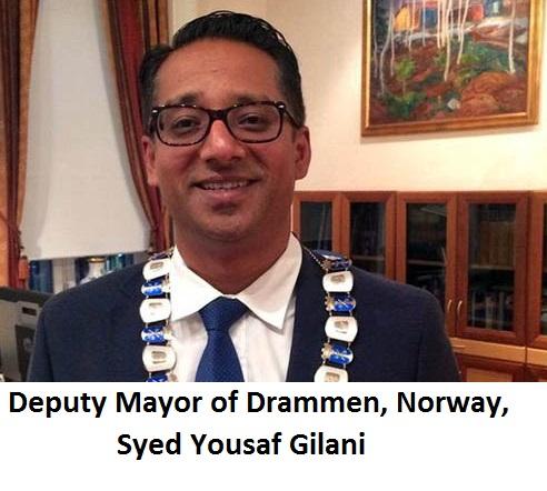 Deputy mayor of drammen
