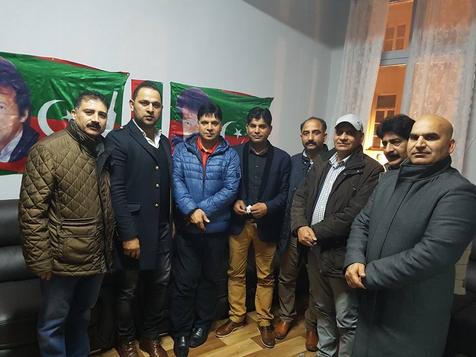 Pti Belgium clashes are over all groups gets united
