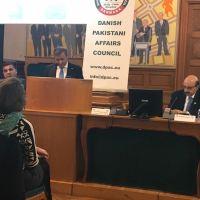 ڈینش پارلیمنٹ میں کشمیرکانفرنس: بھارت پر بامعنی مذاکرات کے لیے دباو ڈٓالا جائے، صدر مسعودخان