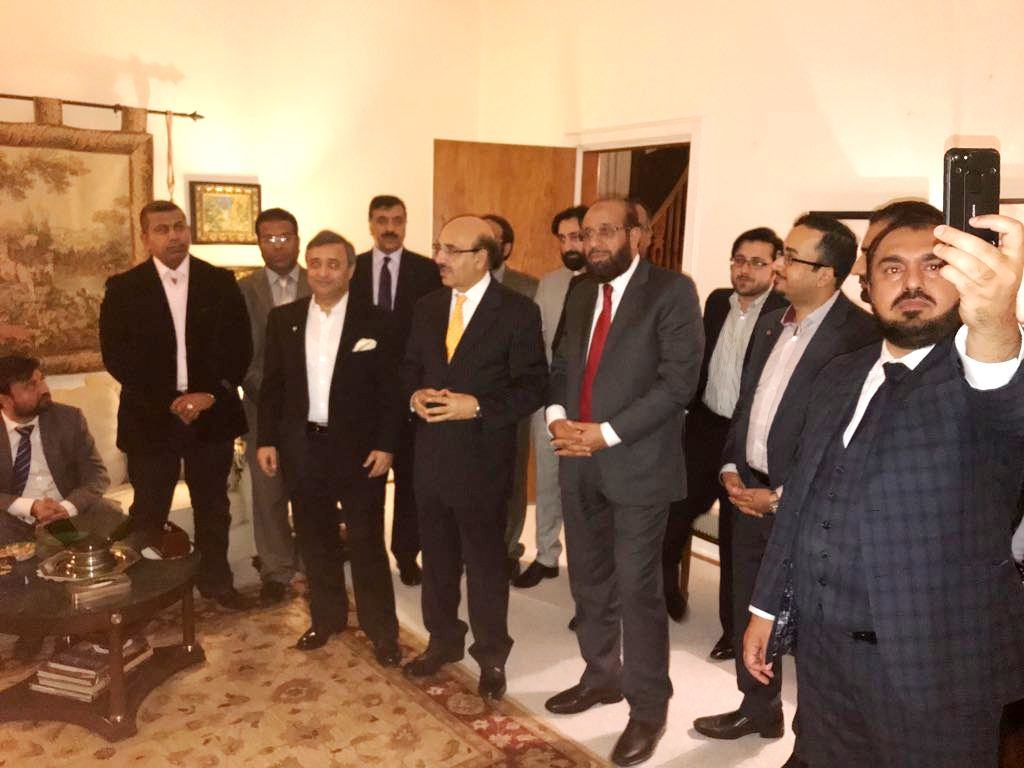 Pakistan Embassy Denmark Dinner | Sardar Yousaf in Copenhagen Denmark | Sardar Masood Khan in Copenhagen Denmark