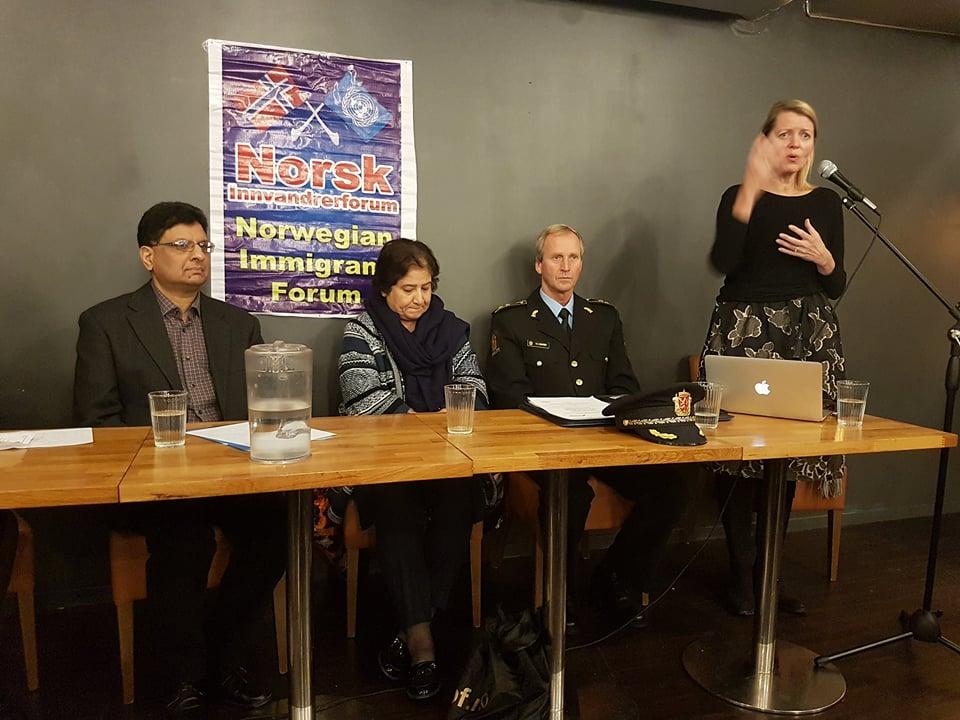 Seminar on Domestic Violence in Oslo Norway
