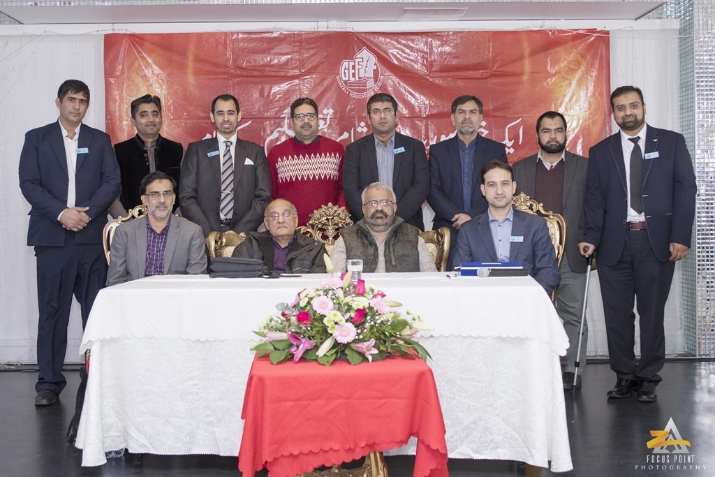 Amjad Islam Amjad & Khalid Masood Khan in Charity Dinner & Poetry Organized by Ghazali Forum Denmark