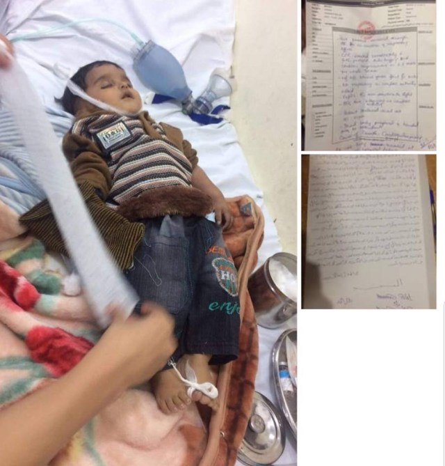 Child Died on way to Hospital due to Blockage of Faizabad Interchange by Tehreek e Labaik Ya Rasool Allah
