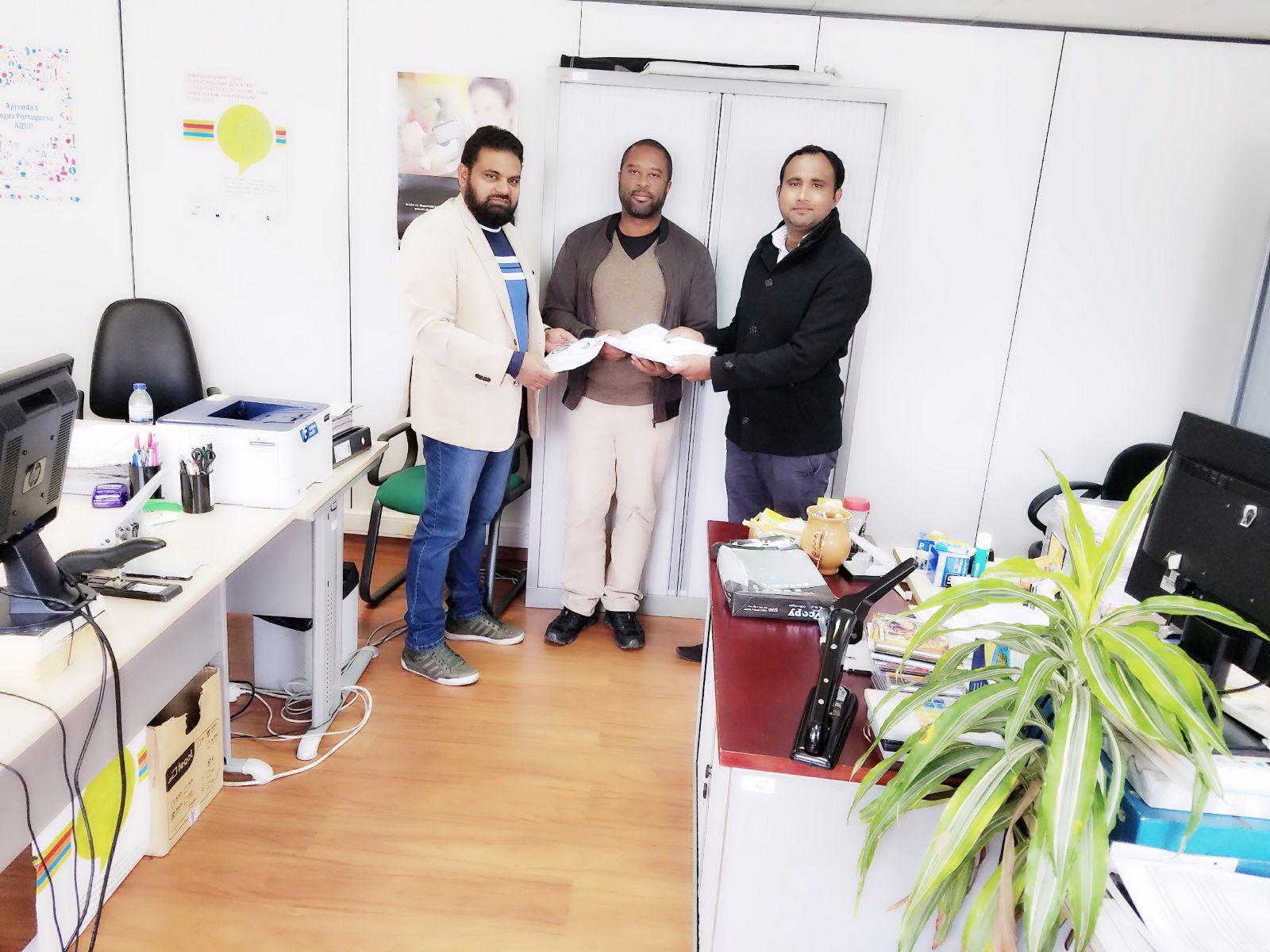 Pak Portugal Association Visited High Commission For Migration ACM