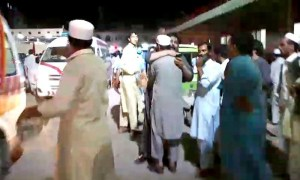 Haroon Bilour died in a blast