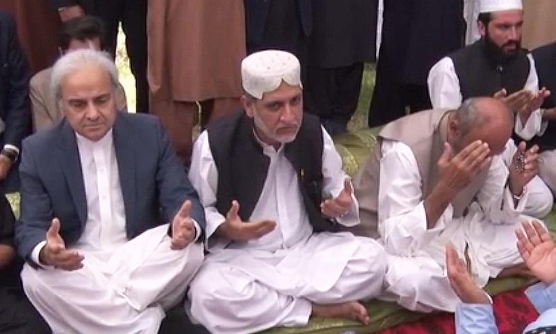 Nasir ul Mulk Visits Balochistan