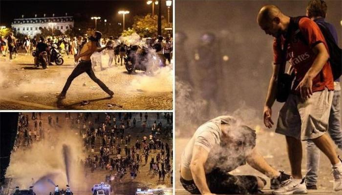 Violence Incidents in France