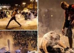 فرانس : جیت کا جشن تشدد میں تبدیل، 2 افراد ہلاک