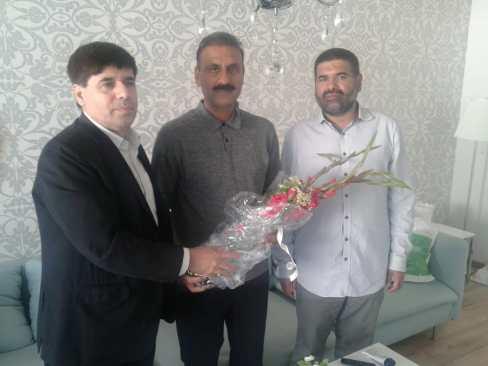 Syed Sibtain Shah, Zaki Shah, Syed Zawar Hussain Shah in Oslo Norway