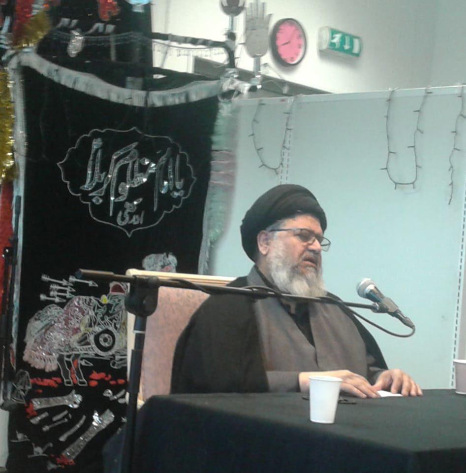 اسلامی سکے کے اجرا میں رہنمائی امام باقر(ع) کا عظیم کارنامہ ہے، علامہ شمشاد رضوی انجمن حسینی ناروے میں خطاب