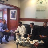 Chairman PUN Qamar Iqbal asks Chairman NADRA for resolution of issues of overseas Pakistanis