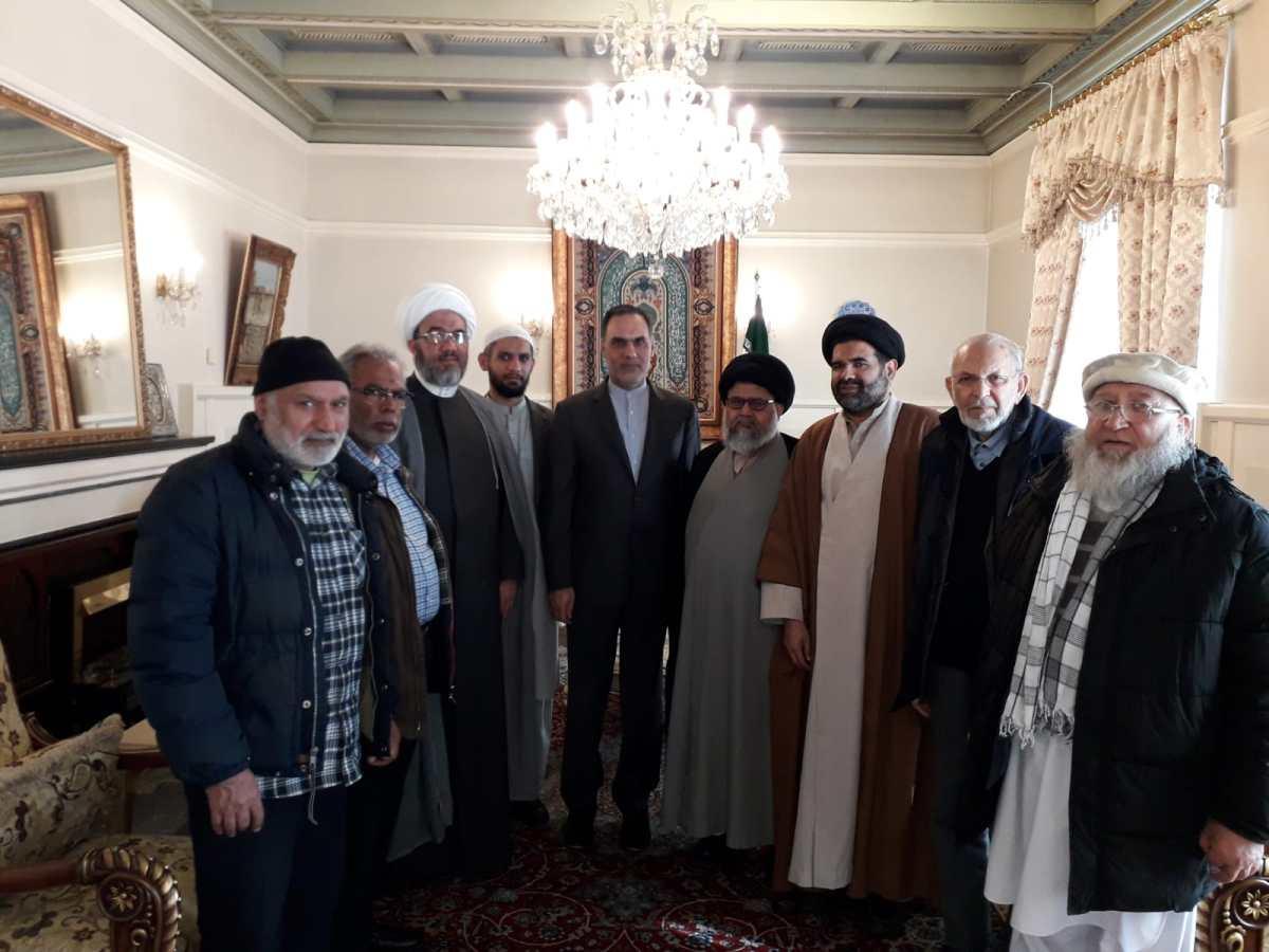 ناروے میں ڈاکٹرسید زوار نقوی کی سربراہی میں علماء کے وفد کی ایرانی سفیر سے ملاقات: سیلاب کے نقصانات پر ہمدردی کا اظہار