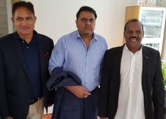 پاکستانی وفاقی وزیر کا دورہ ناروے