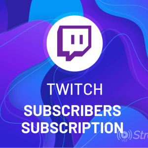 Buy Twitch Subscribers Subscription