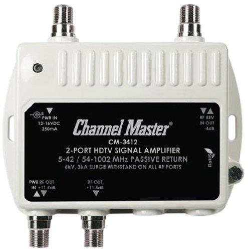 Channel master 2 way splitter
