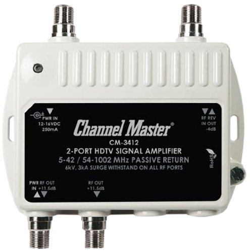 Channel master 2 way splitter