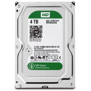 Western Digital 4TB Internal Hard Drive IntelliPower 64MB Cache SATA 6.0Gb