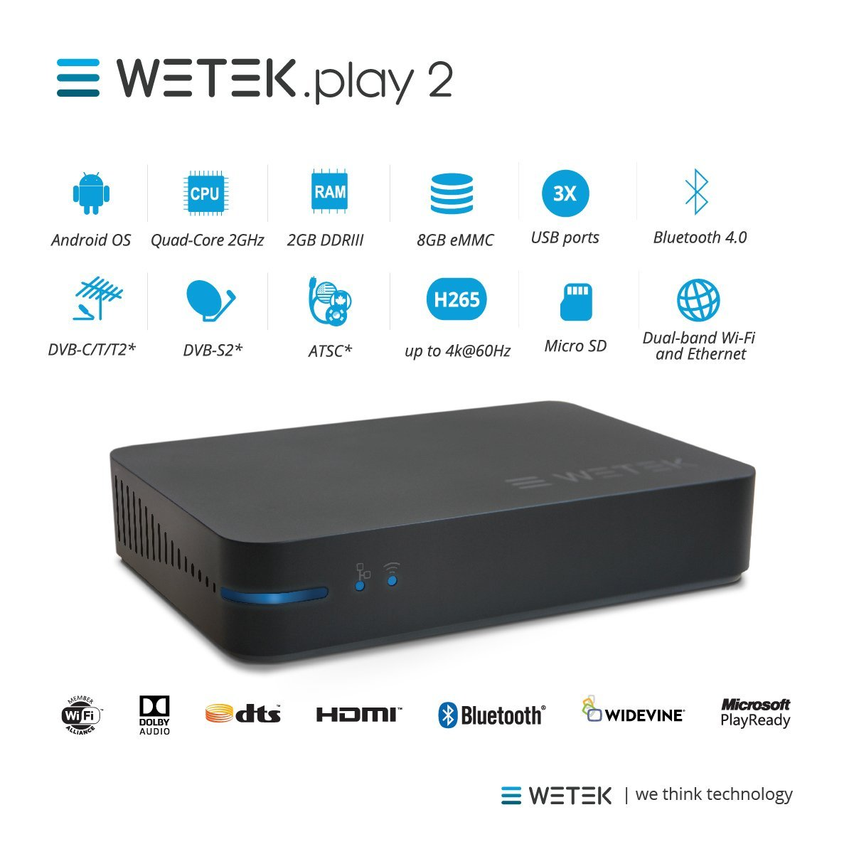 WeTeck Play 2 Specs