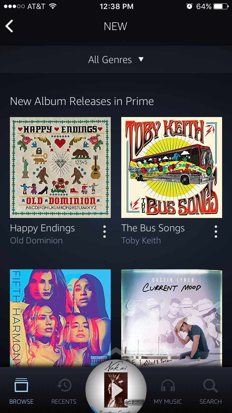 Amazon Music Phone