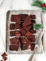 Holiday Brownie Brittle