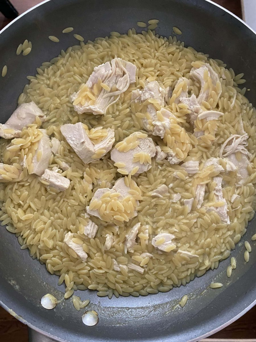 orzo and chicken