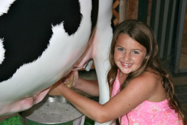 faux milking
