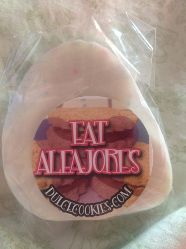 eat alfajores sticker