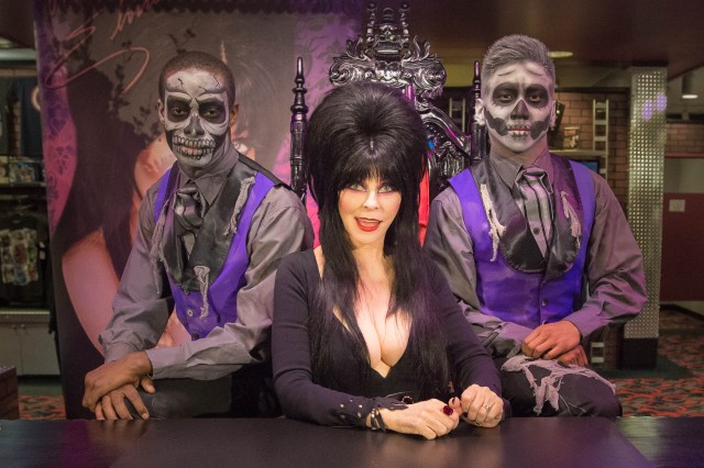 You could even meet Elvira