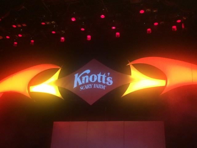 Knott's Scary Farm sign
