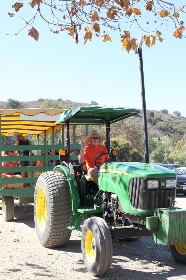 Hay Ride Tractor