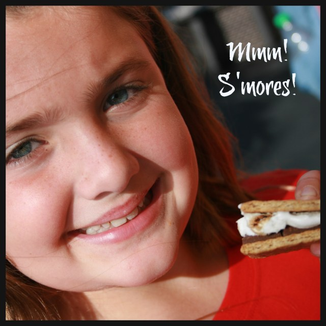 Mmmm! S'mores!