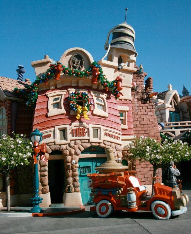 firehouse in Toontown