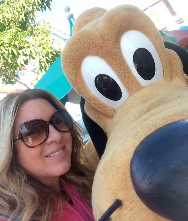 selfie with Pluto